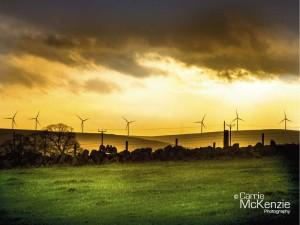 windmills, sunset yorkshire landscapes, yorkshire, landscapes, countryside, calderdale