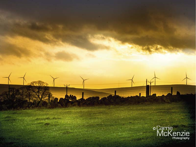 yorkshire windmills, windmills, calderdale, windmills at sunset, yorkshire, yorkshire landscape, sunset windmills, country side, sunset